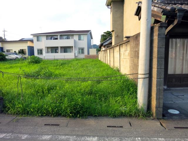 住宅地の空地
