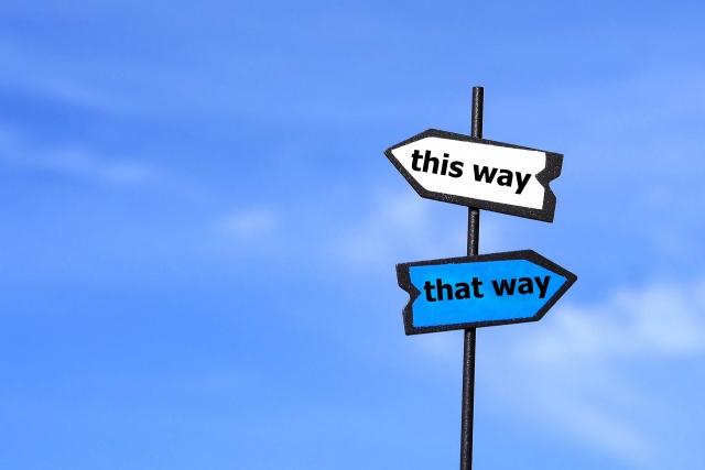 2択の道標