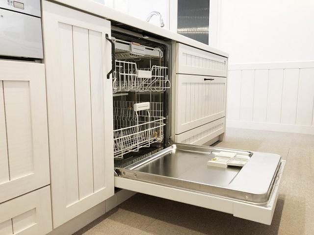 キッチンの食器洗浄機
